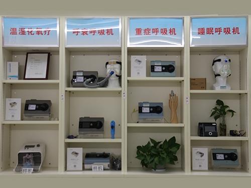 康梦呼吸机设备展示